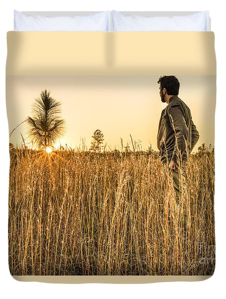 Golden Years Duvet Cover