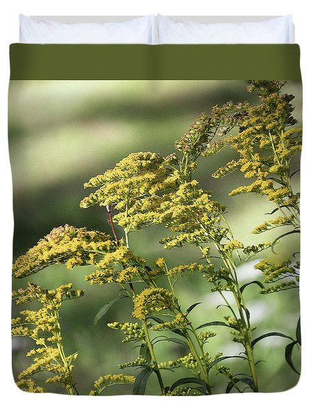 Goldenrod -  Duvet Cover