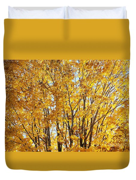 Goldenyellows Duvet Cover by Aimelle