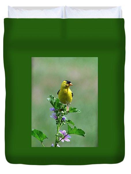Goldfinch Duvet Cover