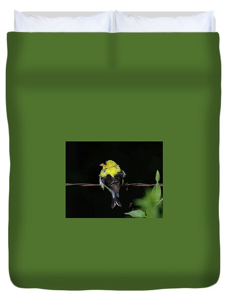 Goldfinch Duvet Cover by Ronda Ryan