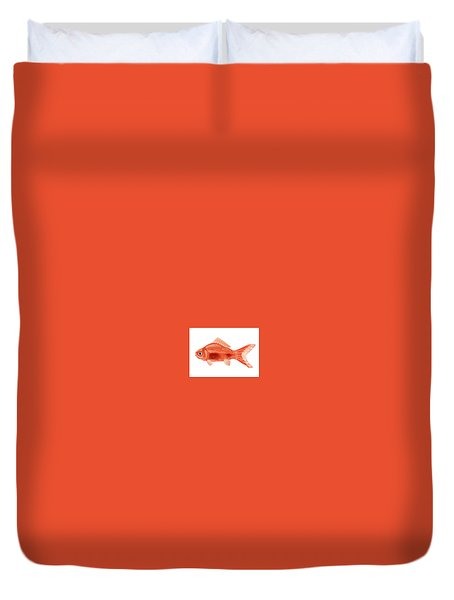 Goldfish Duvet Cover