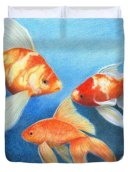 Goldfish Tank Duvet Cover