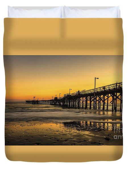 Goleta Sunset Duvet Cover