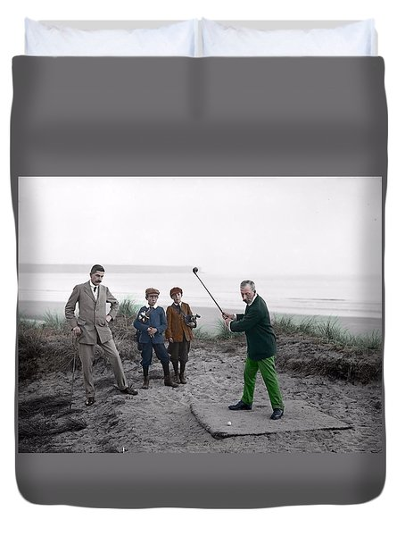 Golf 1907 Dream Duvet Cover
