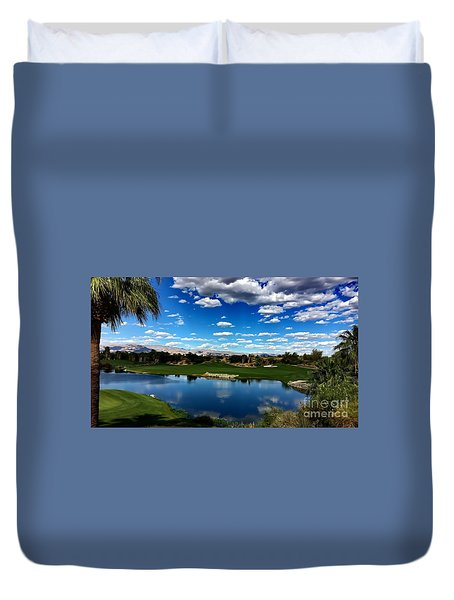 Golf Duvet Cover by Chris Tarpening