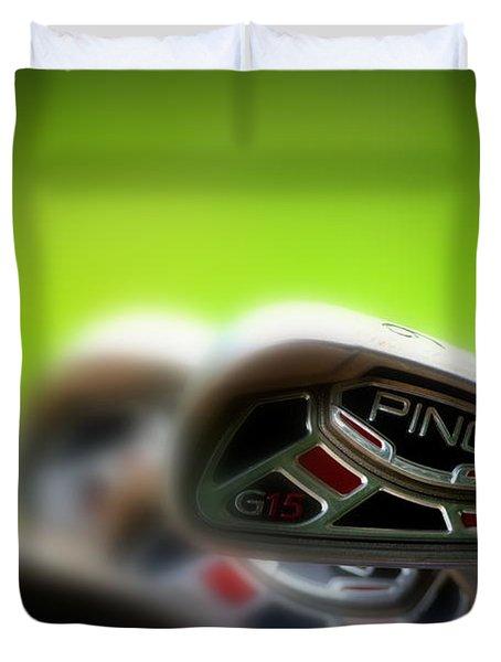 Golf Clubs 2 Duvet Cover
