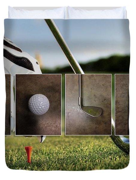 Golf Duvet Cover