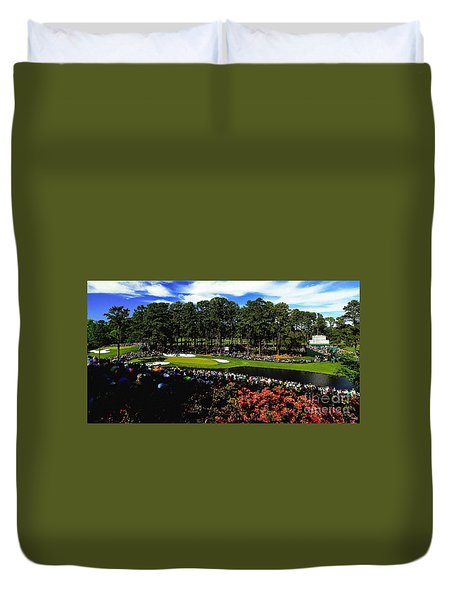 Golf Masters Duvet Cover