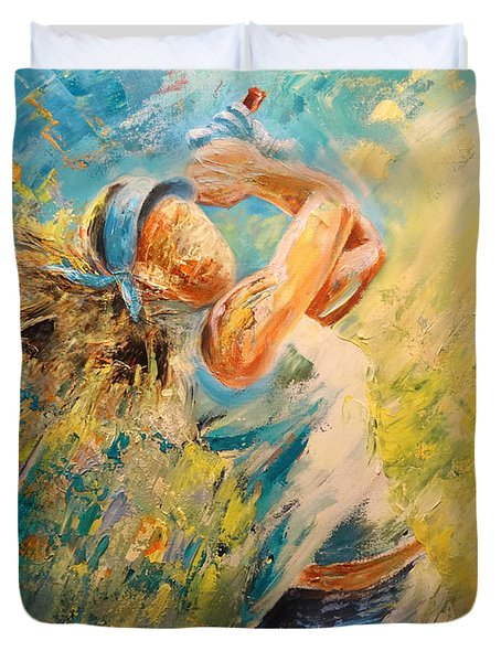 Golf Passion Duvet Cover