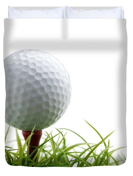 Golfball Duvet Cover by Kati Molin