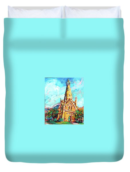 Gombert's Tower Duvet Cover