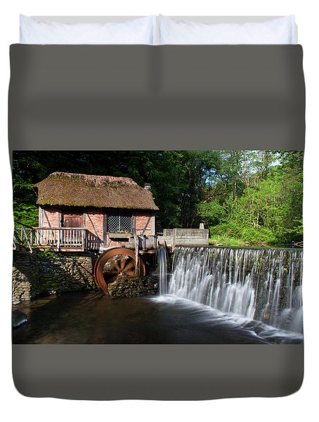 Gomez Mill In Spring #1 Duvet Cover by Jeff Severson