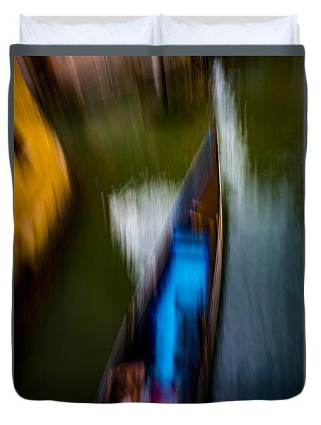 Gondola Dream Duvet Cover