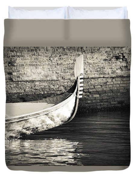 Gondola Wall Duvet Cover