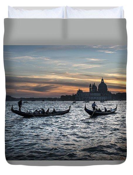 Gondole Al Tramonto Sam210x Duvet Cover