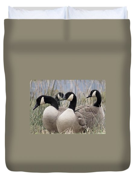 Gone Agandering Duvet Cover