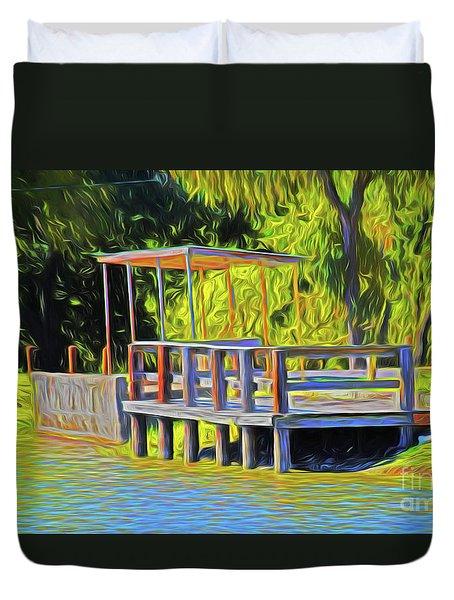 Gone Fishing 18-11 Duvet Cover