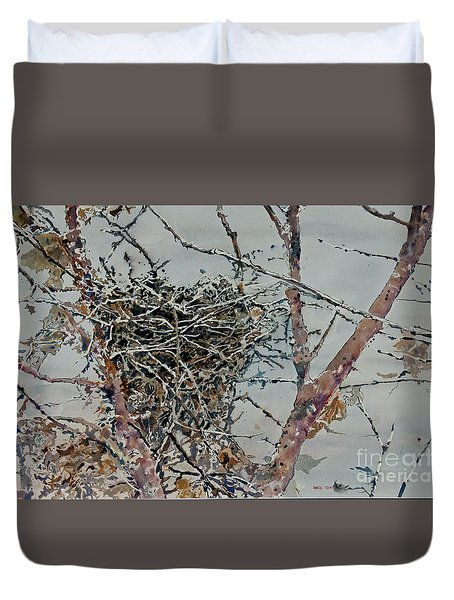 Gone South Duvet Cover