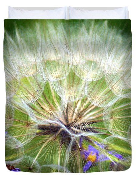 Gone To Seed Duvet Cover by Marty Koch