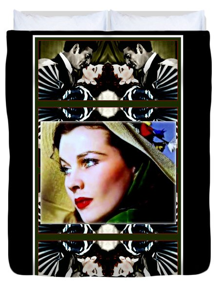 Gone With The Wind Duvet Cover by Wbk