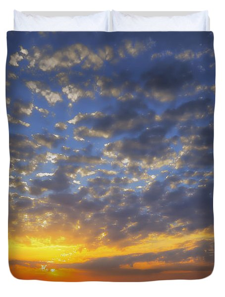 Good Day Sunshine Duvet Cover by Joan Carroll