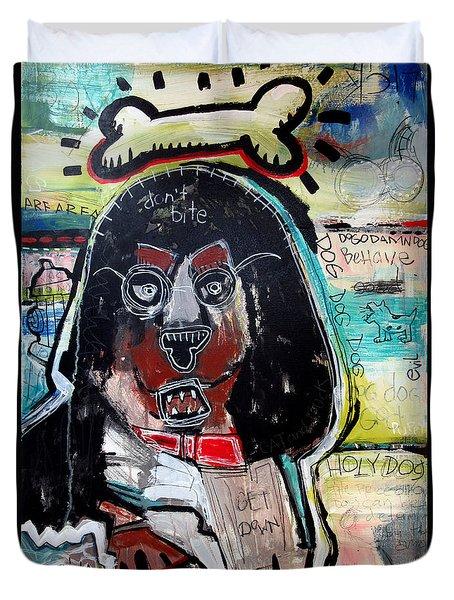 Good Dog Duvet Cover