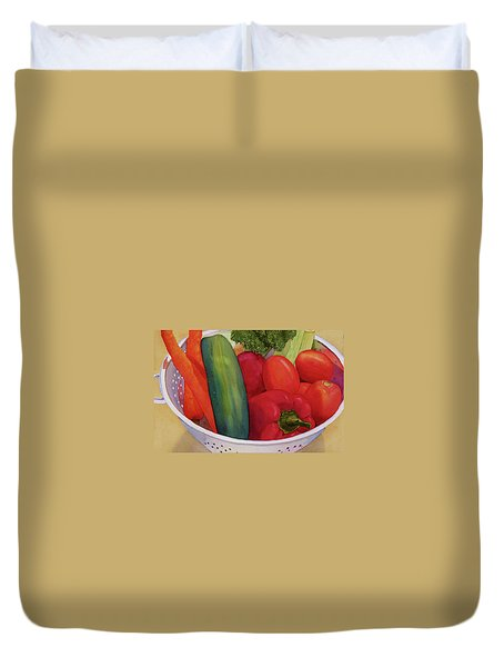 Good Eats Duvet Cover