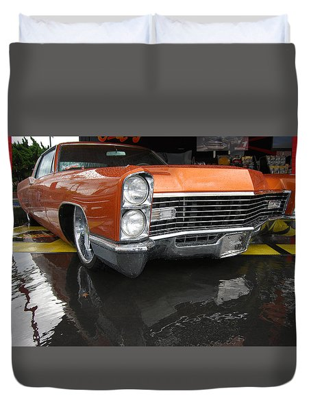 Good Guys Caddy Duvet Cover by Bill Dutting