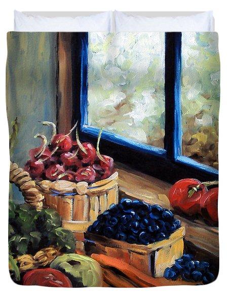 Good Harvest Duvet Cover by Richard T Pranke