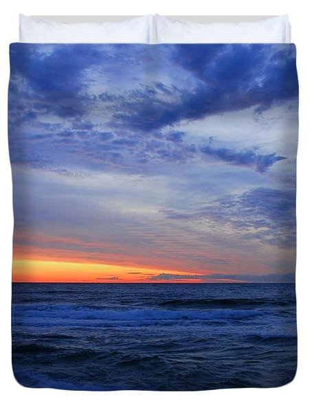 Good Morning - Jersey Shore Duvet Cover