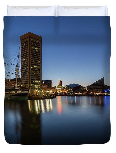 Good Morning Baltimore Duvet Cover