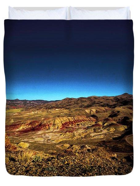 Good Morning From The Oregon Desert Duvet Cover