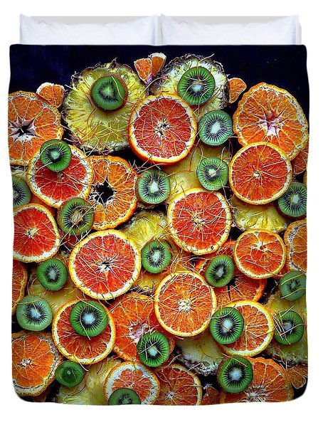 Good Morning Fruit Duvet Cover