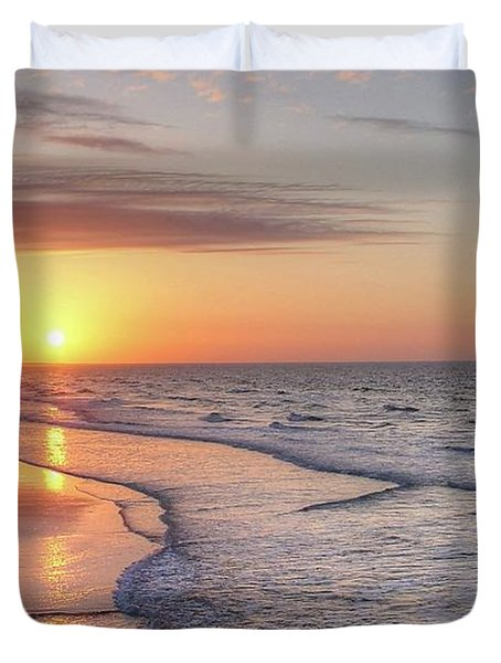 Good Morning Grand Strand Duvet Cover