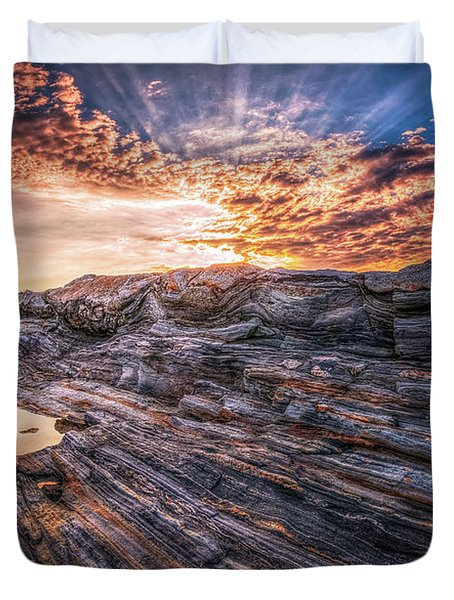 Good Morning Starshine Duvet Cover