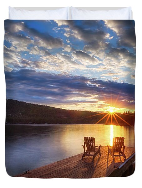 Good Morning Sun Duvet Cover