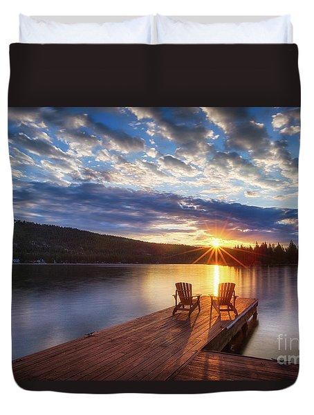 Good Morning Sun Duvet Cover