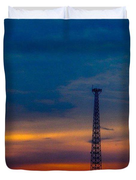 Good #morning #texas #skyporn. Hope Duvet Cover