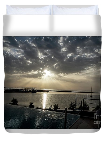 Good Morning Vacation Duvet Cover
