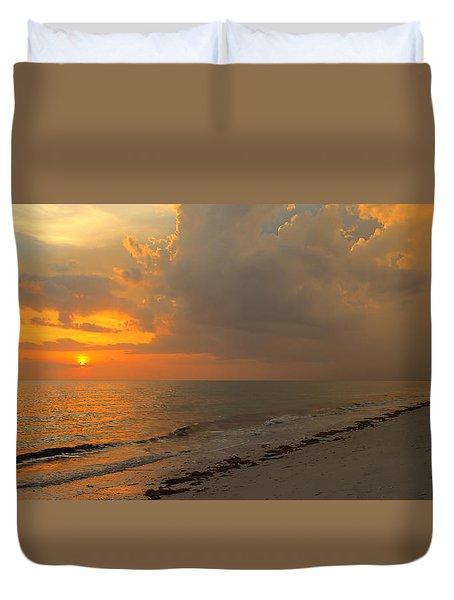Good Night Sun Duvet Cover
