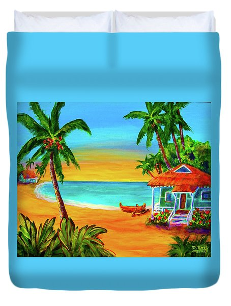 Good Old Days #400 Duvet Cover by Donald k Hall