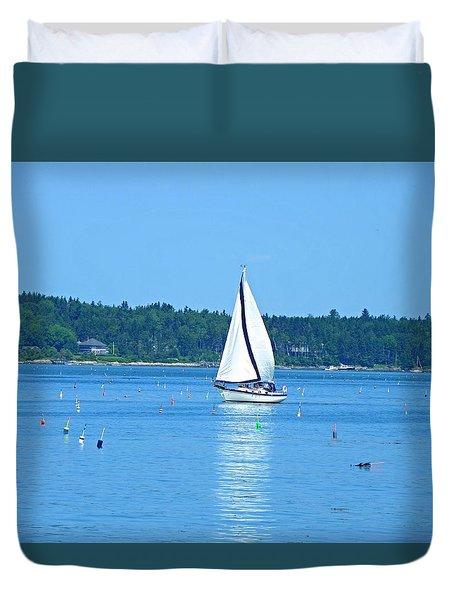 Good Sailing Duvet Cover