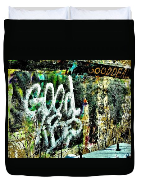 Good Vibes Duvet Cover