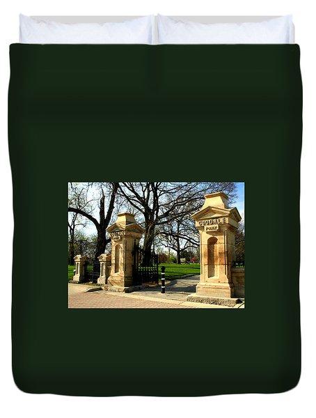 Goodale Park Gateway Duvet Cover