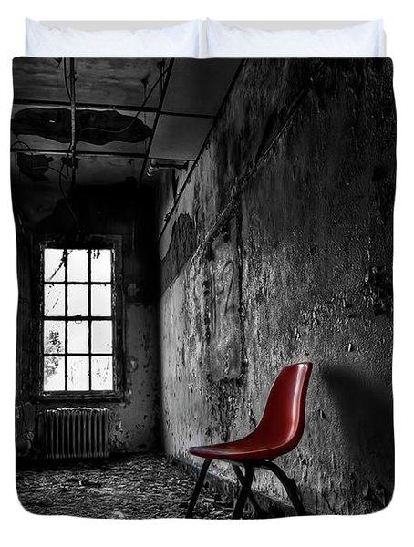 Goodbye Inocence Duvet Cover by Evelina Kremsdorf