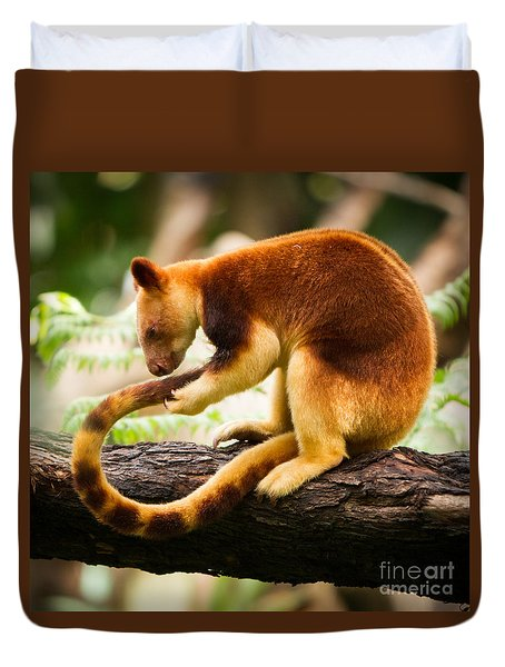 Goodfellows Tree Kangaroo Duvet Cover