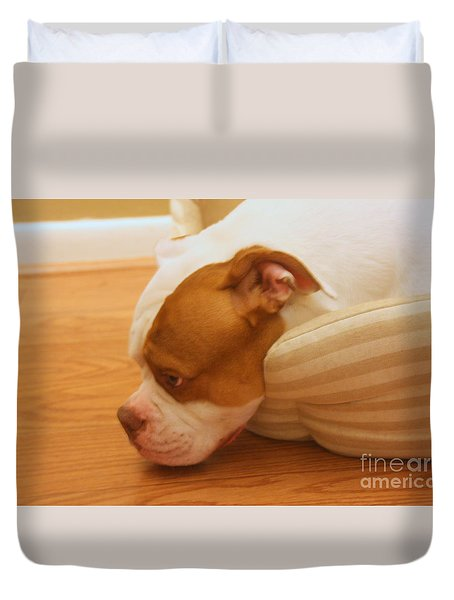 Goodnight Lady Duvet Cover
