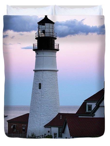 Goodnight Moon, Goodnight Lighthouse  -98588 Duvet Cover