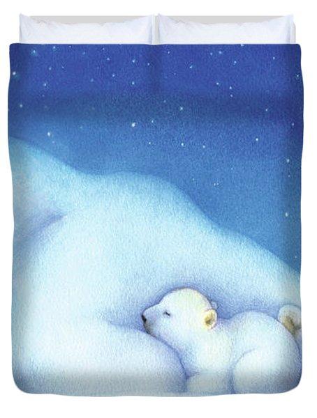 Arctic Bears, Goodnight Nanook Duvet Cover